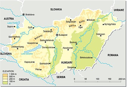 Geography of Hungary  Wikipedia
