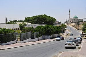 Unrecognized Bedouin villages in Israel - Hura downtown