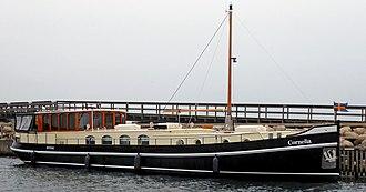 Houseboat - Houseboat Cornelia in Ystad / Sweden 2018.