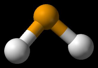 Hydrogen chalcogenide - Image: Hydrogen selenide 3D balls