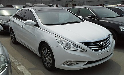2014 Hyundai Sonata Gls >> Hyundai Sonata - Wikipedia