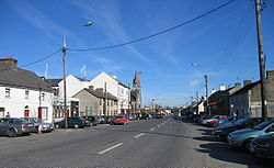 Kinnegad Main Street, the former N4