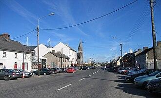 Kinnegad - Kinnegad Main Street, the former N4