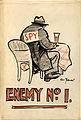 INF3-277 Anti-rumour and careless talk Enemy No.1 Artist Bert Thomas.jpg