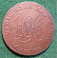 IRELAND, DUBLIN -CAMAC, RYAN and CAMAC HALFPENNY TOKEN 1794 a - Flickr - woody1778a.jpg