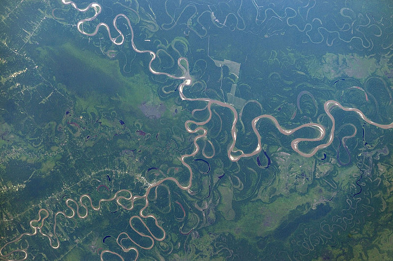 File:ISS-46 Bolivia, confluence of Chimoré, Ichilo and Mamoré River.jpg