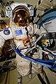 ISS-54 EVA-2 Orlan space suit No. 6.jpg