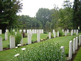 Ramparts (Lille Gate) Commonwealth War Graves Commission Cemetery