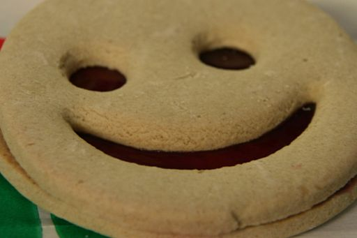 Ignorance is bliss - shortbread cookie with a smile