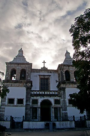 Our Lady of Grace Cathedral, Setúbal - Image: Igreja Santa Maria Graça Setúbal