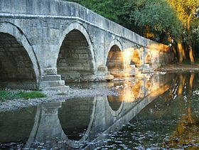 Pont romain sur la Bosna