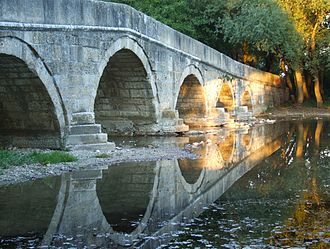 Roman bridge on Ilidža - Roman bridge