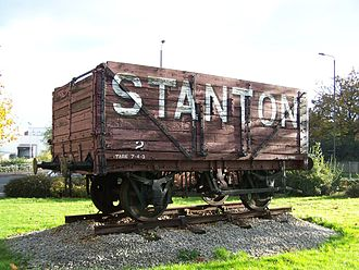 Ilkeston - A restored Stanton Wagon, Chalons Way, Ilkeston