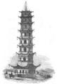 Illustrirte Zeitung (1843) 19 293 2 Der Porzellanthurm bei Nankina.PNG