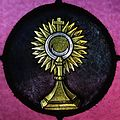 Immaculate Conception Catholic Church (Knoxville, Tennessee) - stained glass, monstrance.jpg