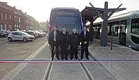 Inauguration de la branche vers Vieux-Condé de la ligne B du tramway de Valenciennes le 13 décembre 2013 (072).JPG
