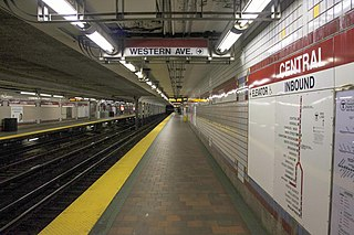 Central station (MBTA) MBTA subway station in Cambridge, Massachusetts