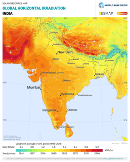 Solar power in India Solar power