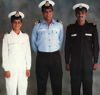 Indian Navy - Some of the uniforms of Indian Navy