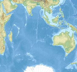 Burckle Crater is located in Indian Ocean