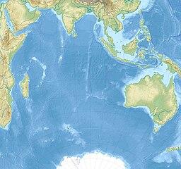 Situo enkadre de Hinda oceano