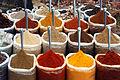Indian spices for sale at the Anjuna flea-market, Anjuna Beach, Goa.jpg