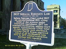 Indiana Eugenics Law Marker.JPG