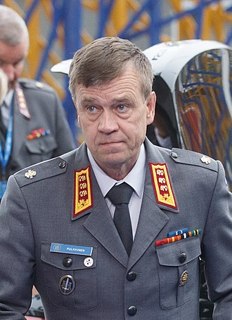 Director General of the European Union Military Staff - Image: Informal meeting of defence ministers (FAC). Arrivals Esa Pulkkinen (36890876876) (cropped)
