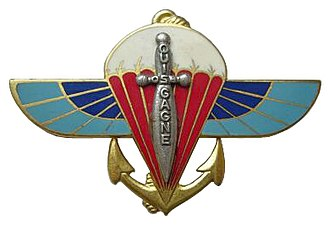 2nd Marine Infantry Parachute Regiment - Image: Insigne régimentaire du 2° RPI Ma