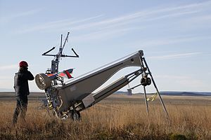 Insitu - ScanEagle prepares for launch.