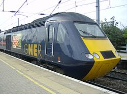 InterCity 125 GNER Class 43 at Newark North Gate on 6th September 2007.JPG
