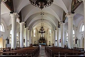 St. Joseph's Church, Semarang - Interior of Gedangan Church