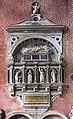 Interior of Santi Giovanni e Paolo (Venice) - Monument to Giambattista Bonzio by Gian Maria Padovano.jpg