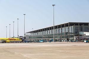 Dalaman Airport - Image: International terminal dalaman airport dlm lbts