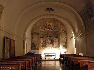 Girolamo da Treviso - Image: Interno chiesa della Commenda