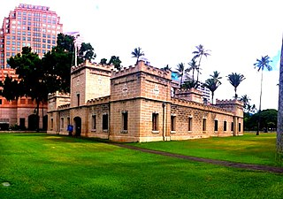 barracks in Honolulu, Hawaii, United States