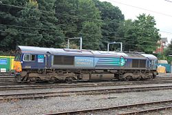 Ipswich depot - Freightliner 66416 stil in DRS livery.jpg