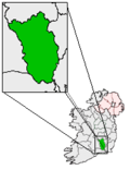 Ireland map County Kilkenny Magnified.png