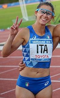 Irene Siragusa Italian athlete