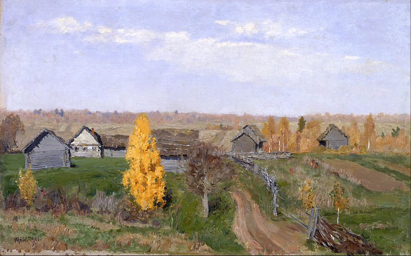 Fail:Isaac Levitan - Golden autumn. Slobodka - Google Art Project.jpg
