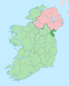 Island of Ireland location map Louth.svg