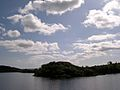 Isle of Innisfree as seen from the Rose of Innisfree Tourboat on Lough Gill, County Leitrim or County Sligo, Ireland - Flickr - Jay Sturner.jpg