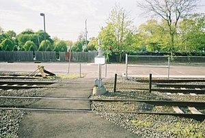 Islip (LIRR station) - Image: Islip LIRR Station Ped Xing