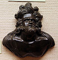 Italia, anonimo, busto di satiro, 1550 ca..JPG