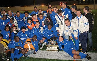 York Region Shooters - Italia Shooters celebrating CSL Championship in 2006.