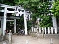 Izumi kumano jinja suginami 2009.JPG
