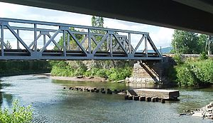 Operation Woodlark - Jørstadelva Bridge