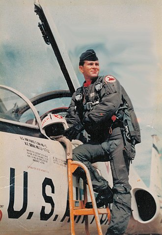 Jack Clapper - Jack Clapper in uniform for the US Air Force, 1967