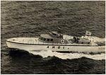 JMSDF ASH-01 at Kagoshima Bay, off Kanoya City in 1964.jpg
