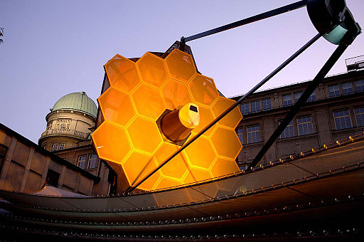 JWST Full-Scale Model on Display in Germany